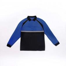 Blauer Long Sleeve Colorblock Performance Patrol Polo