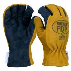 Shelby #5226 FDP Pigskin/Gore Glove w/ Gauntlet