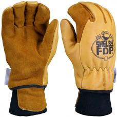 Shelby #5282 FDP Elk/Pigskin Glove w/ Wristlet