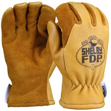 Shelby #5282G FDP Elk/Pigskin Glove w/ Gauntlet